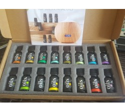 MỘT CHAI TINH DẦU ArtNaturals Aromatherapy Top 8 Essential Oils, 100% Pure of The Highest Quality 10ML