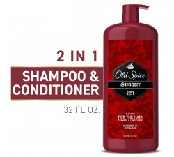 DẦU GỘI XÃ NAM OLD SPICE SWAGGER 2IN1 MEN'S SHAMPOO AND CONDITIONER 946ML