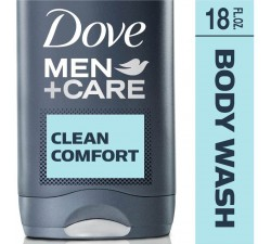 DẦU TẮM + GỘI NAM Dove Men+Care Body and Face Wash Clean Comfort 18 oz  532ML