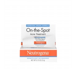 KEM ĐIỀU TRỊ MỤN Neutrogena On-The-Spot Acne Treatment with Benzoyl Peroxide, 0.75 oz