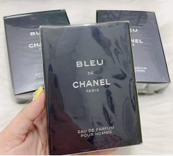 NƯỚC HOA NAM Bleu De_Chanel for Men Eau De Parfum Spray 3.4oz NEW in BOX