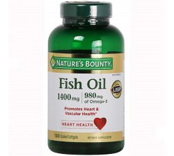 DẦU CÁ Nature's Bounty Fish Oil 1400mg